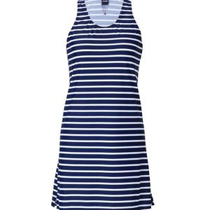 Striped Beach Dress with UV protection